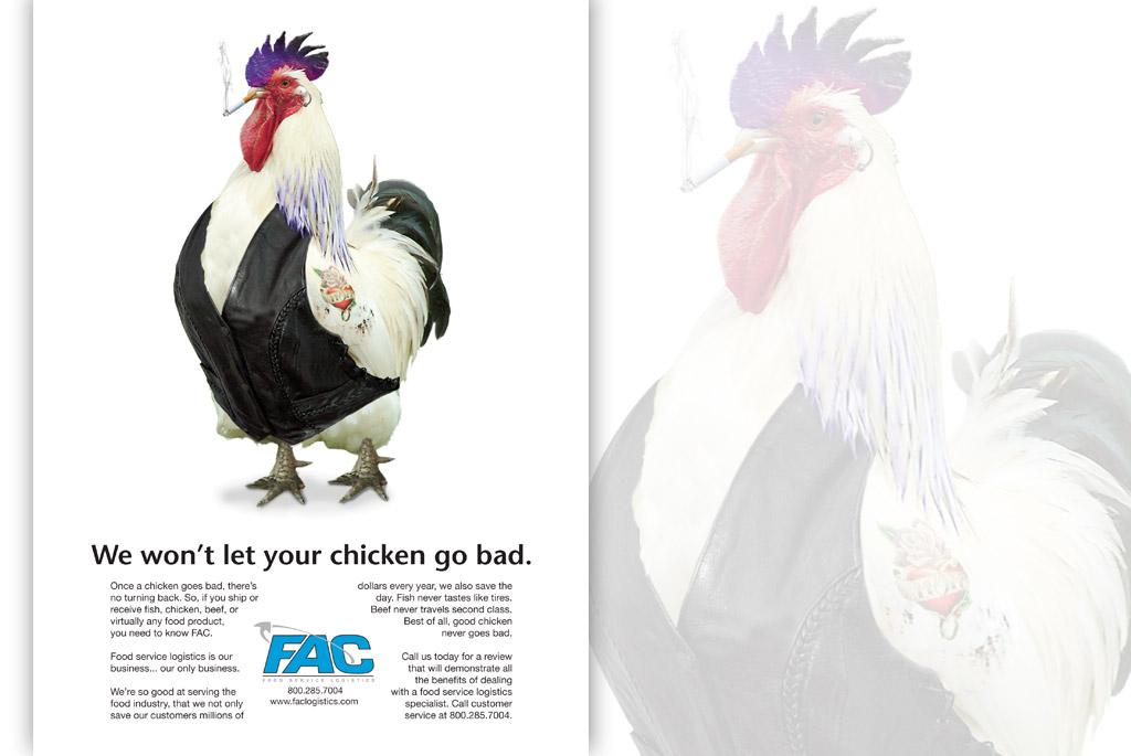 food logistics advertisment