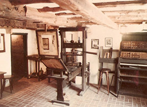 Gutenberg Printing Press Replica
