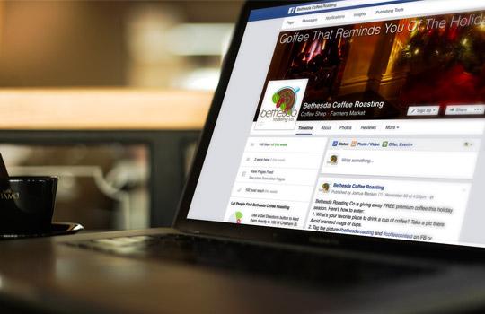 Bethesda Roasting Company Social Media