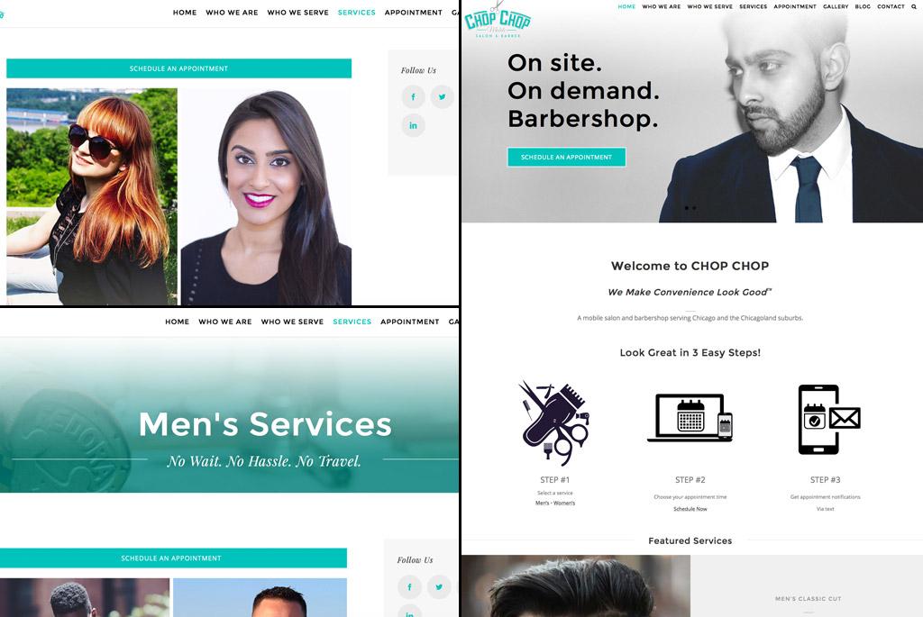 CHOP CHOP Mobile Salon Booking