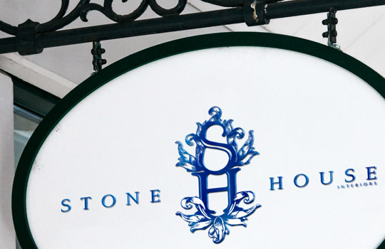 Stone House Interiors Logo and Collateral